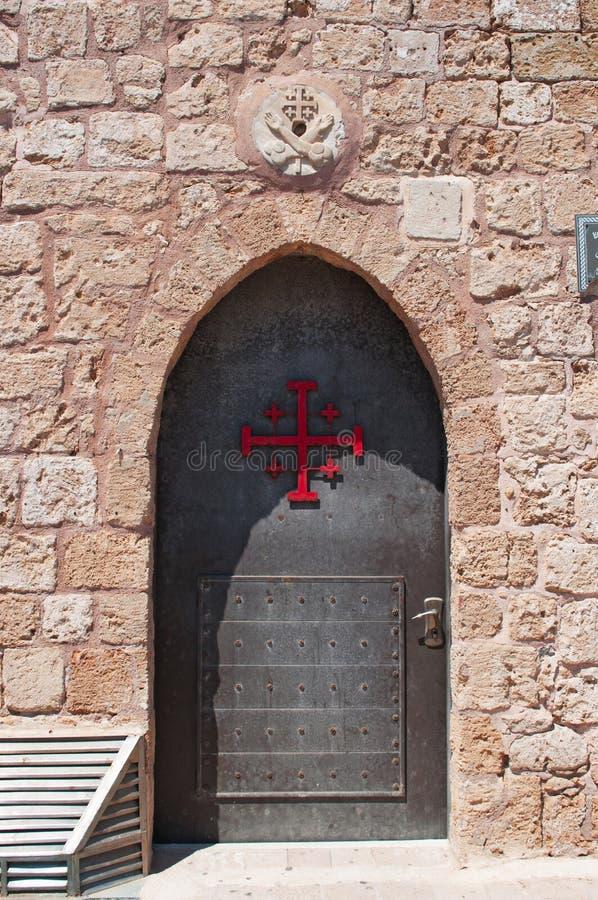 Acre, Israël, Midden-Oosten royalty-vrije stock foto's