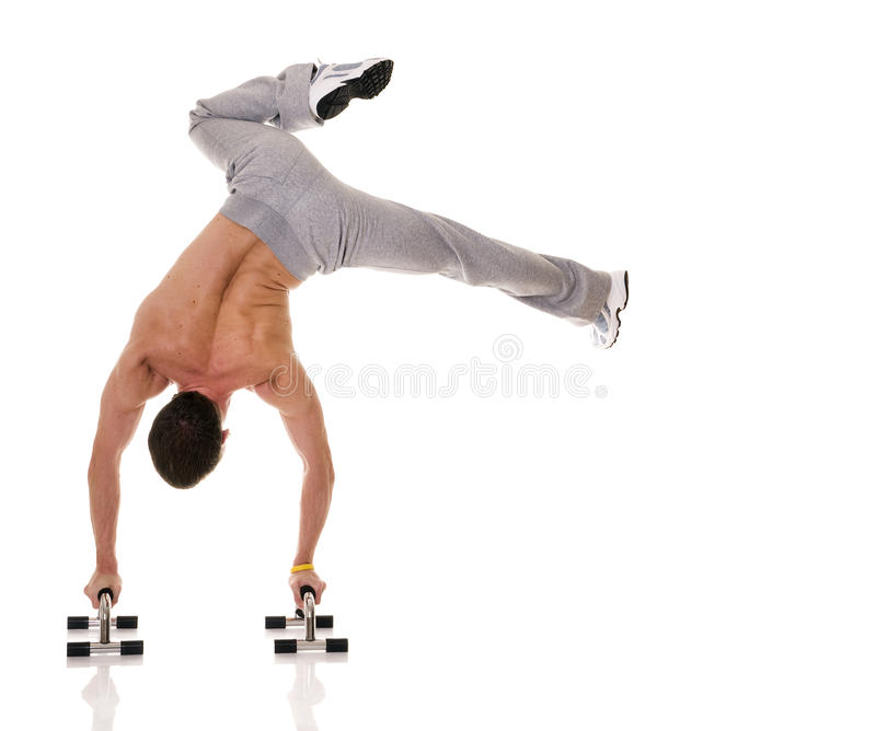 Download Acrobat. stock image. Image of isolated, biceps, extreme - 10241245