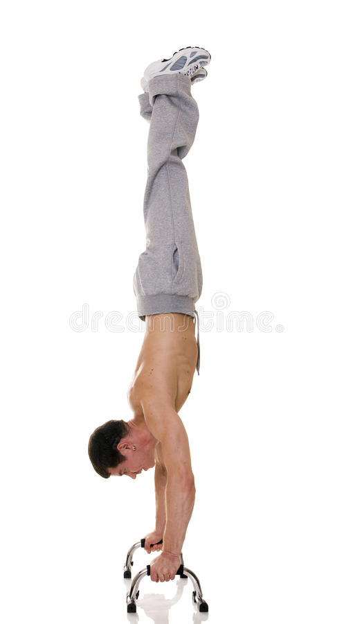 Download Acrobat. stock photo. Image of model, extreme, hand, performance - 10241300