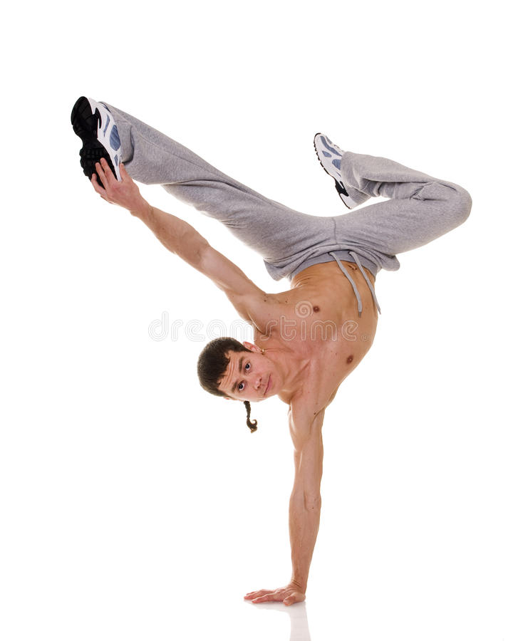 Download Acrobat. stock photo. Image of athlete, dancer, hand - 10241330