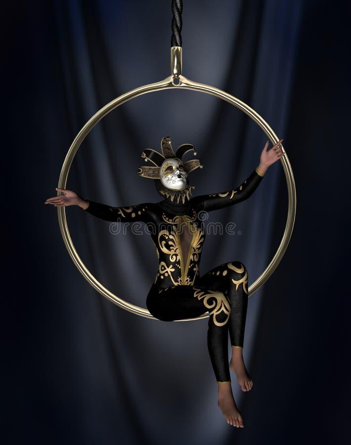 The acrobat royalty free stock photos