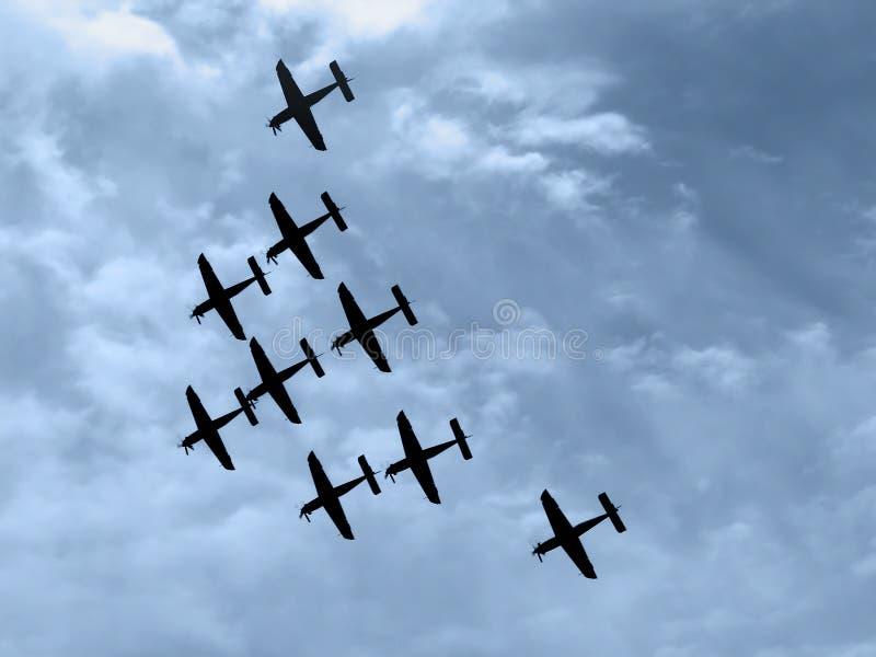 Download Acrobat propeller stock image. Image of squadron, aerobatic - 3792557