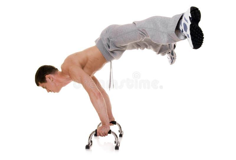 acrobate photo stock