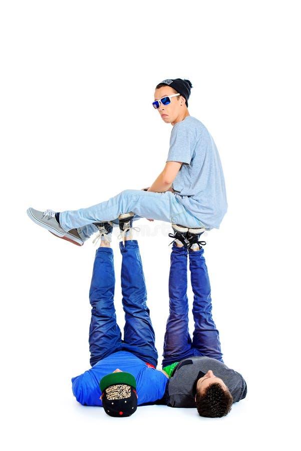 acrobatic fotos de stock royalty free