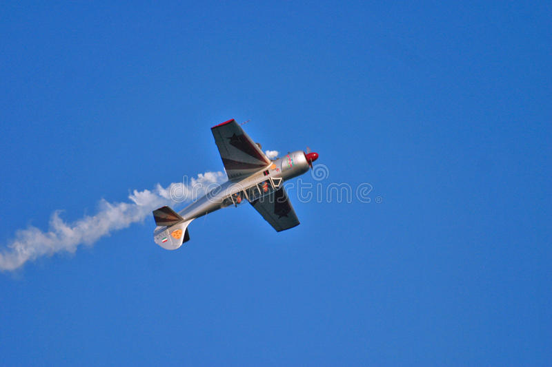 Download Acrobatic Plane During Airshow Editorial Photography - Image: 15750657