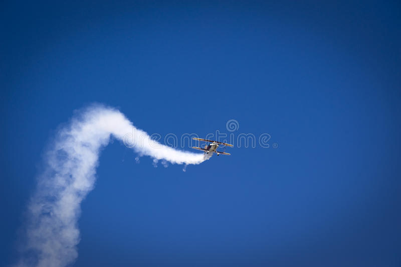 Download Acrobatic Plane In Flight Stock Image - Image: 10773661