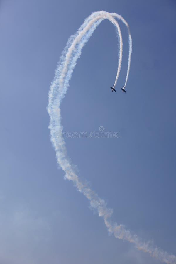 Acrobatici fotografie stock libere da diritti
