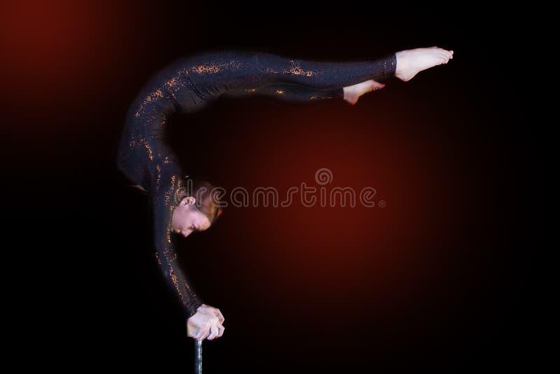 Acrobatics 2 Stock Photography