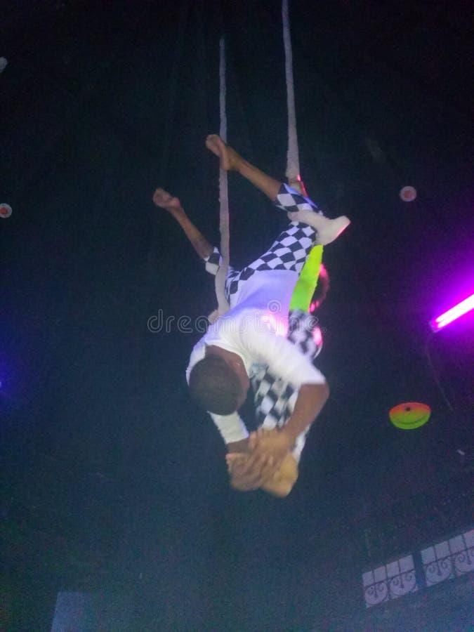 acrobatics fotografia de stock royalty free