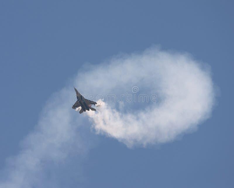Acrobazie aeree fotografia stock libera da diritti