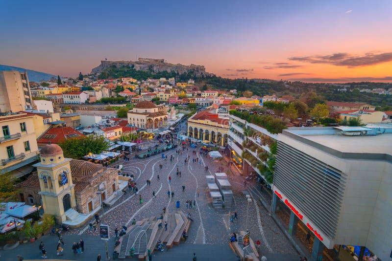 Acropole Athènes images libres de droits