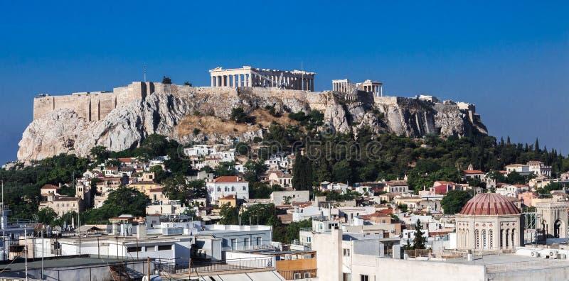 Acropole d'Athènes photo libre de droits