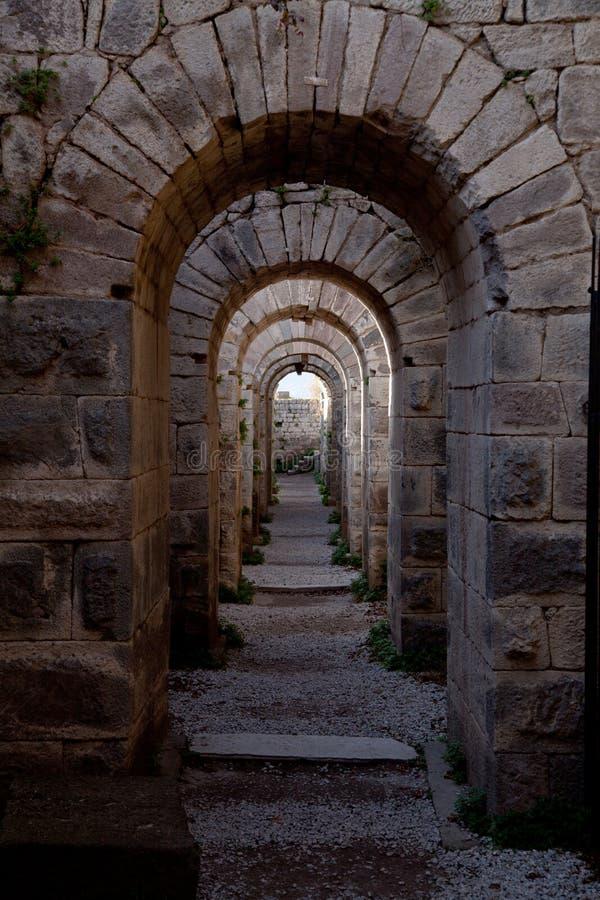 Acropole Pergamon photo stock