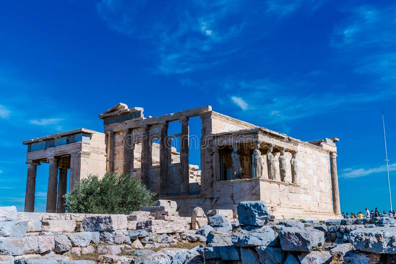 Acropoli. S of Athens Greece beaut wonderful fantasy nice heaven blue Panorama stock photo