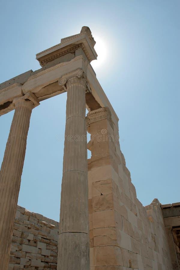 Acropoli Atene fotografia stock libera da diritti
