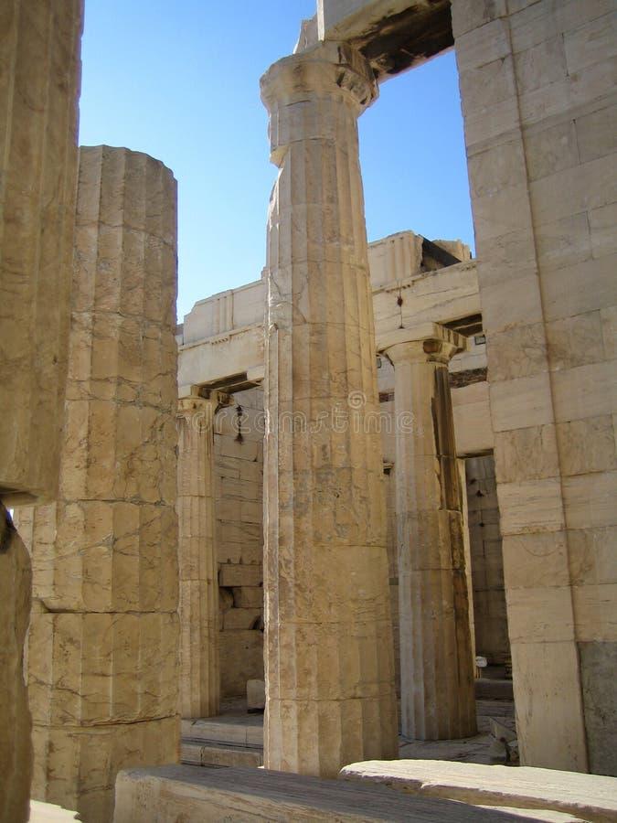 Acropoli Atene, Grecia immagini stock