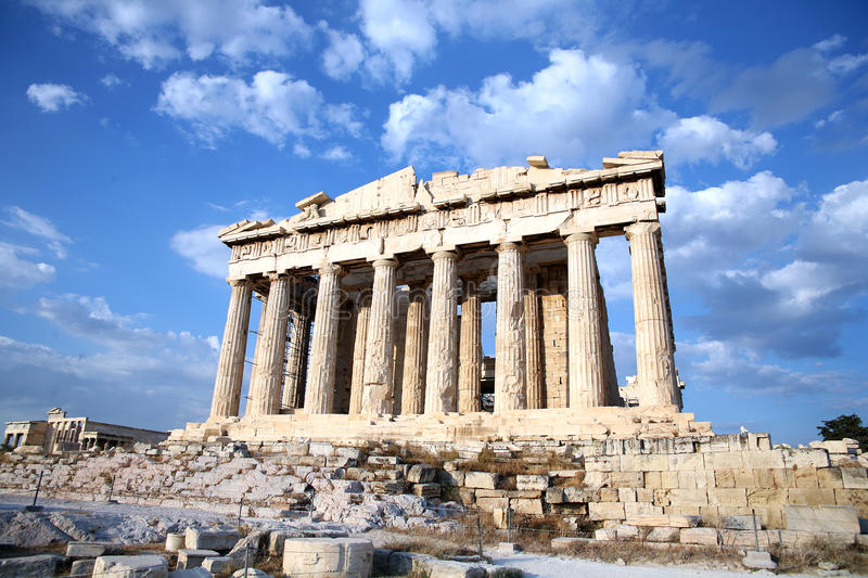 Acropolis 1 royalty free stock images