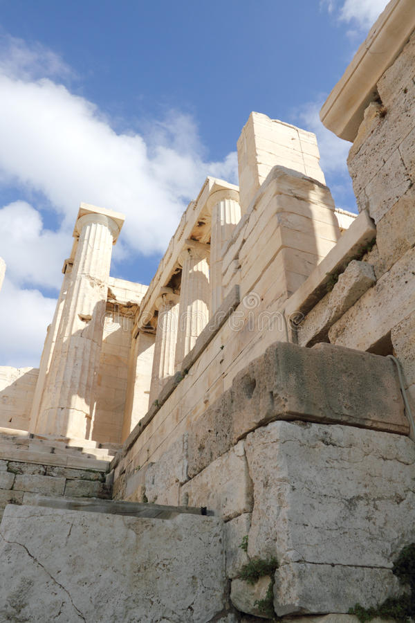 Acropolis. royalty free stock photography