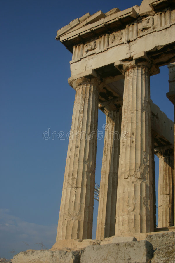 Acropolis 2 imagem de stock