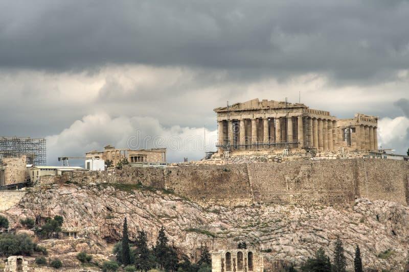 acropolis fotografering för bildbyråer