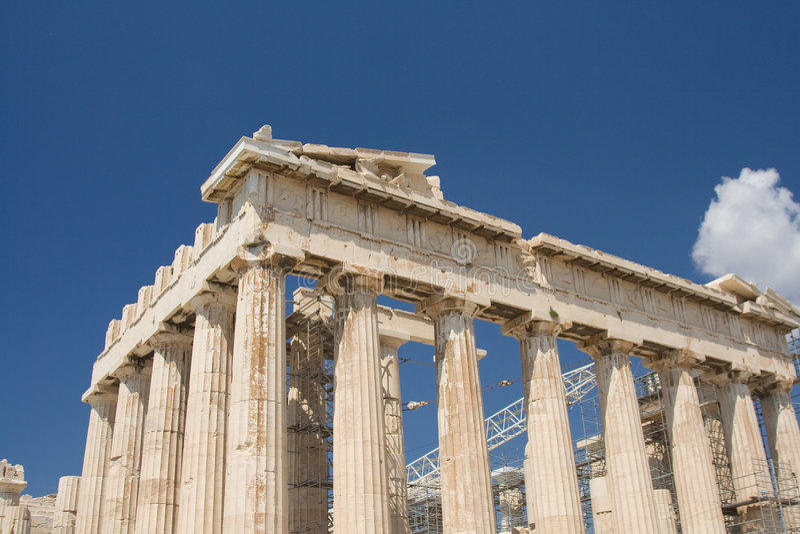 acropolis arkivfoton