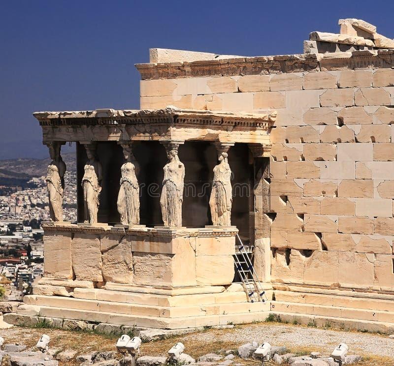 Acropolis imagem de stock