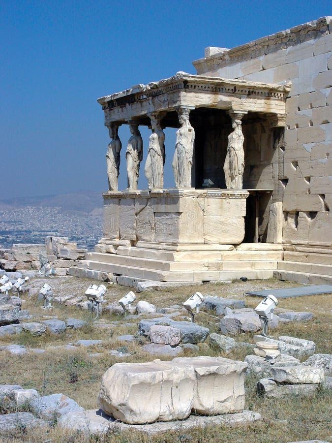 acropolis arkivbild