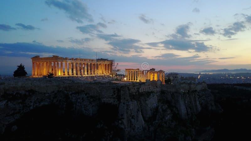 Acropolis fotografia de stock