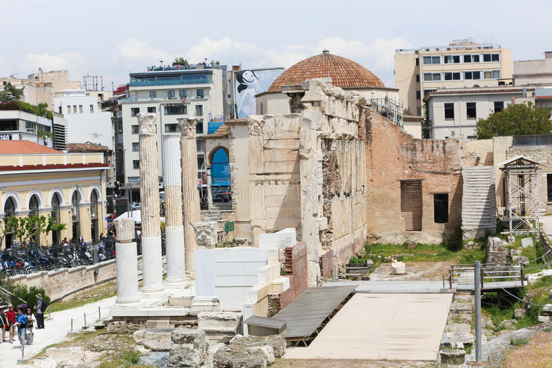 Acropolis, Atenas fotografia de stock royalty free