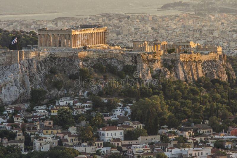 Acropolis, Atenas, Greece fotografia de stock royalty free