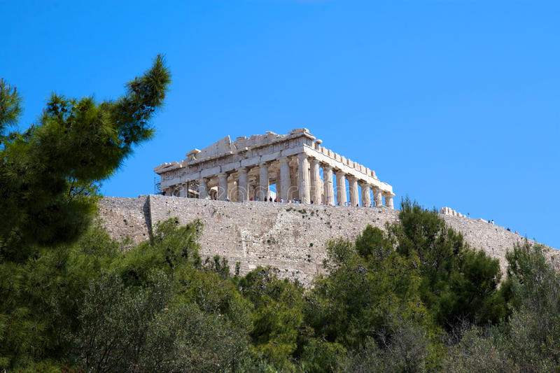 Acropolis, Atenas, Greece fotos de stock