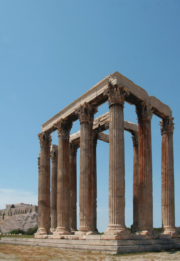 Acropolis of Athens royalty free stock image