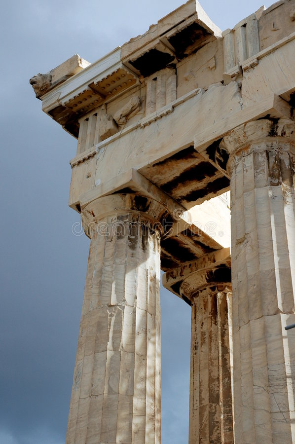 acropolis athens arkivbilder