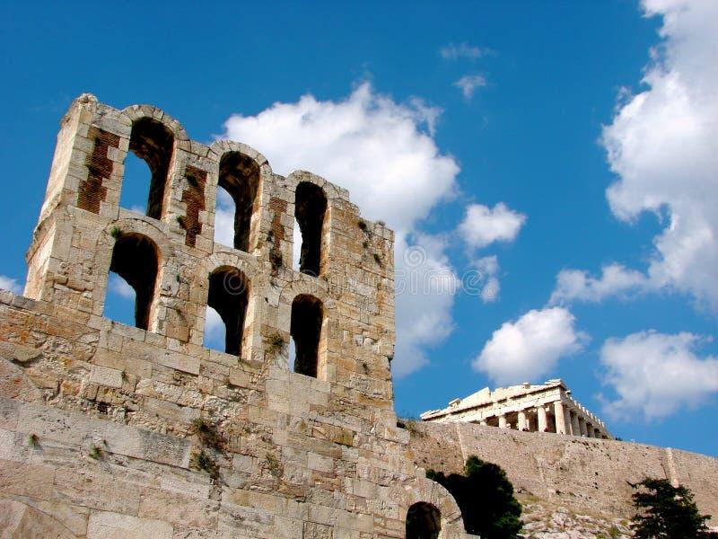 The Acropolis, Athens royalty free stock photos