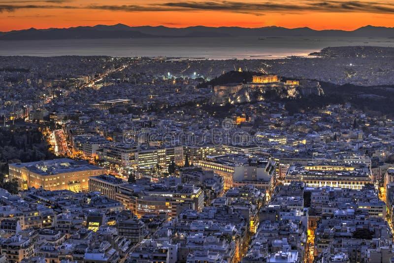 Acropolis of Athens, Greece stock photos