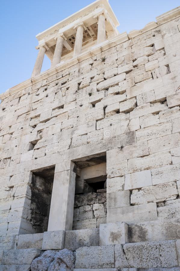 Acropolis  in Athens - Greece royalty free stock photography