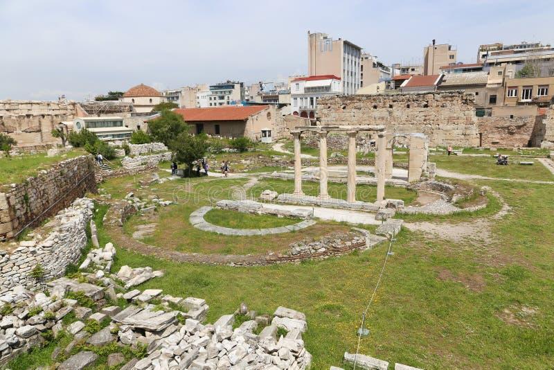 Acropolis de Atenas imagem de stock royalty free