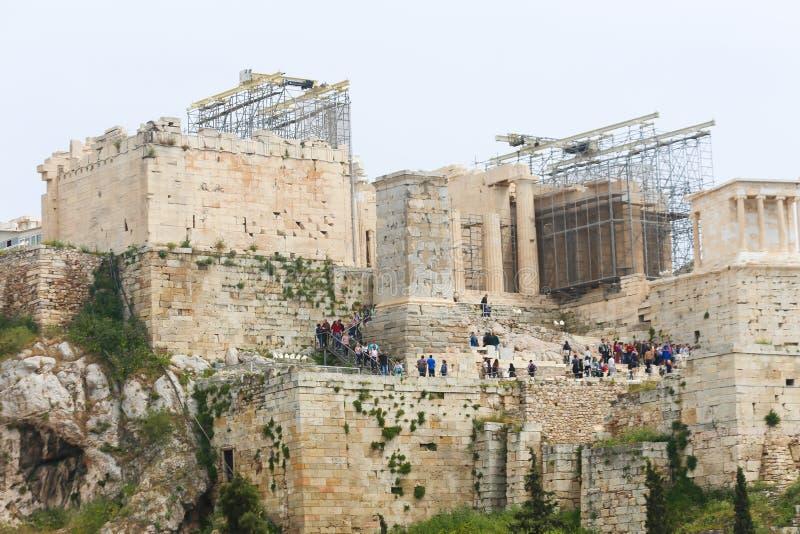 Acropolis de Atenas foto de stock royalty free