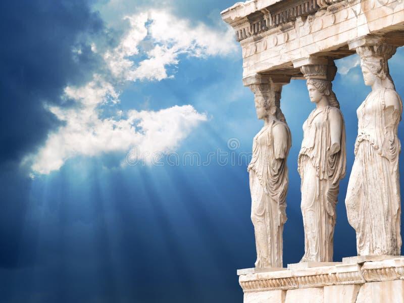 Acropolis de Atenas fotografia de stock royalty free