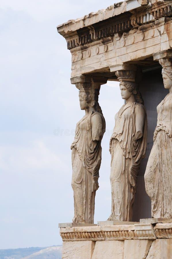 Acropolis de Atenas fotos de stock royalty free