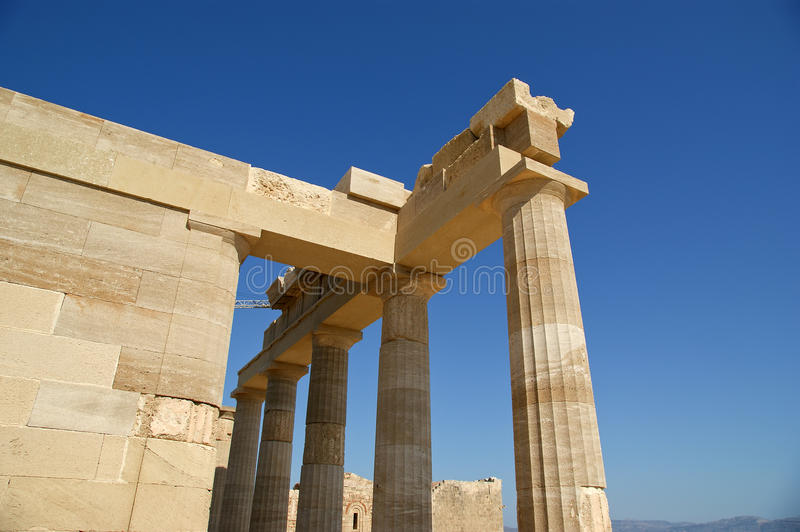 Download Acropolis Of Lindos, Rhodes Island, Greece Stock Photo - Image: 31353472