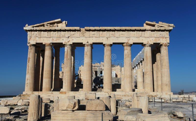 Acropolisen i Athens arkivfoto