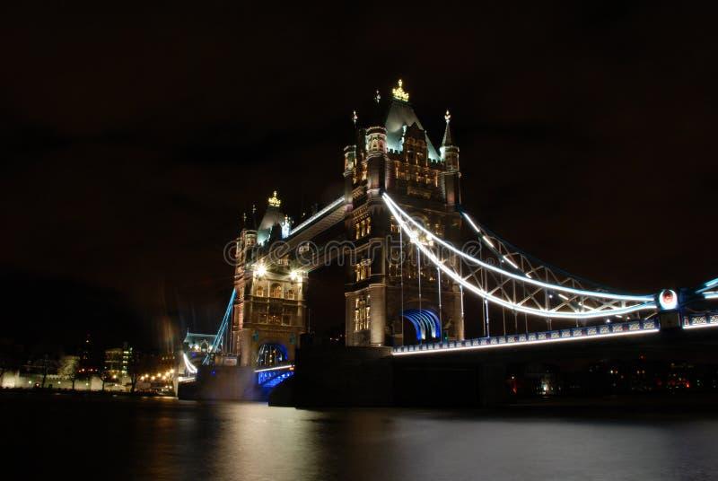Across the bridge stock image
