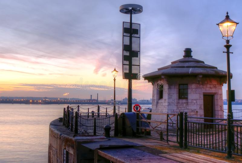 Across the Mersey royalty free stock images