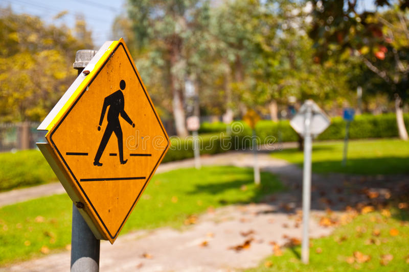 Download Across road sign stock image. Image of crossing, background - 17275071
