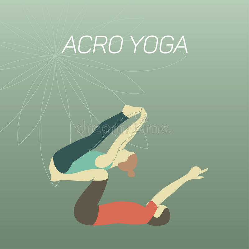 Acroyoga libre illustration