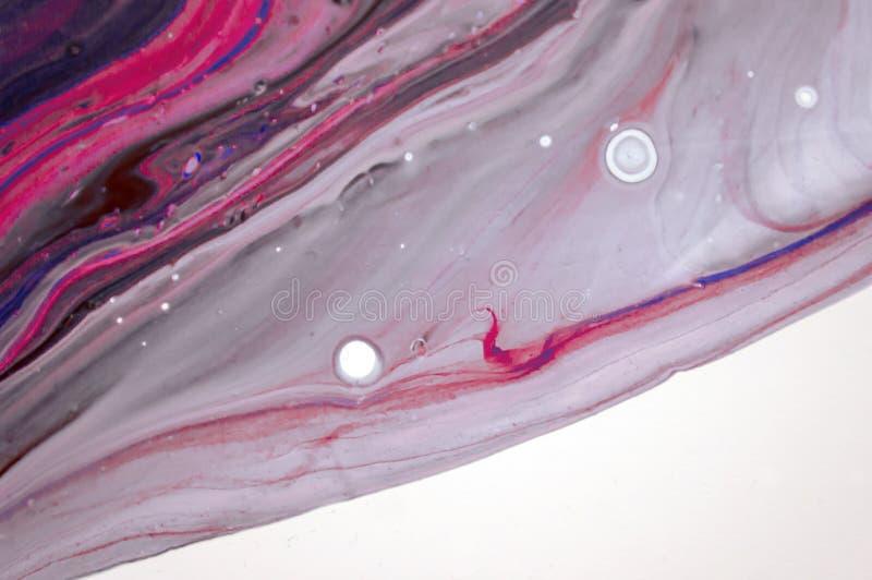Acryl, Farbe, abstrakt Nahaufnahme der Malerei stockbilder