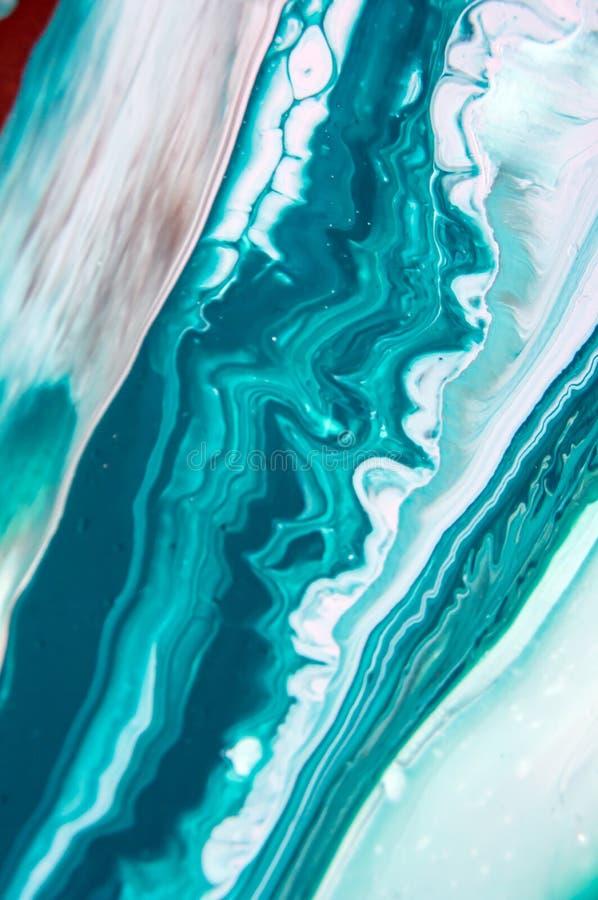 Acryl, Farbe, abstrakt Nahaufnahme der Malerei Bunter abstrakter Malereihintergrund Hoch-strukturierte Ölfarbe Hohe Qualität lizenzfreie stockbilder