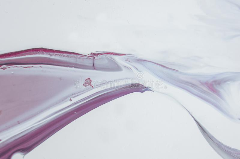 Acryl, verf, samenvatting Close-up van het schilderen stock foto's
