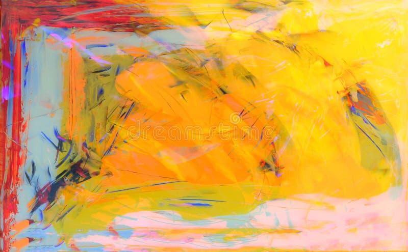 Acrylic на стекле стоковое изображение rf